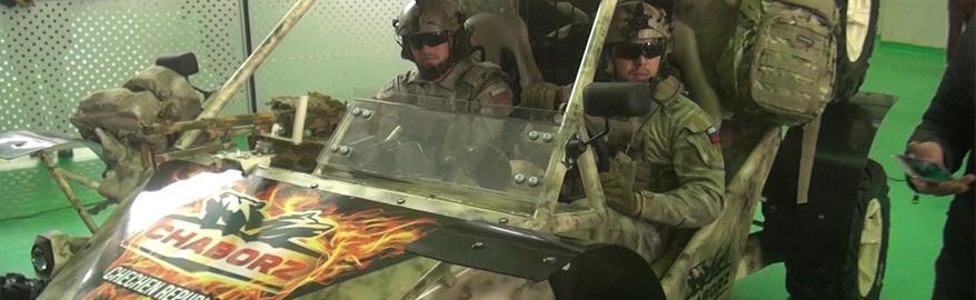 Гражданский вариант военного багги «Чаборз М-3» будет стоить 1,1 млн
