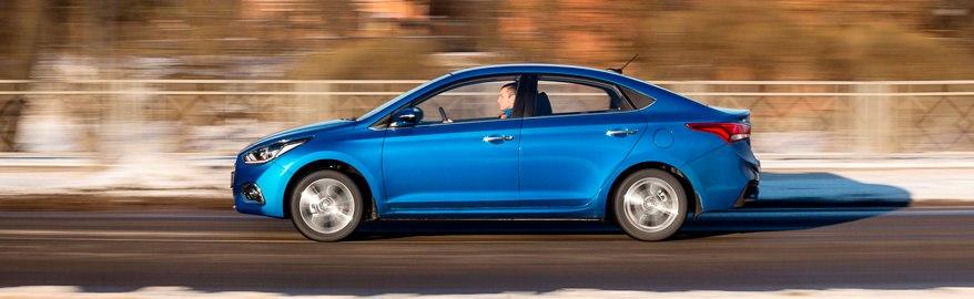 Краш-тест Hyundai Solaris: за рулём сидел живой человек