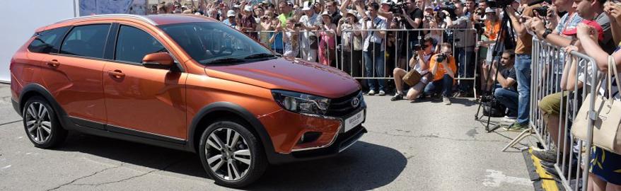 Стали известны сроки продаж универсала Lada Vesta SW Cross
