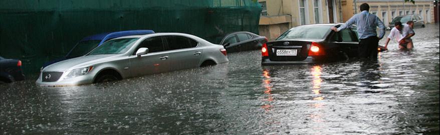 Москвичей предупредили о «ветхозаветном потопе»