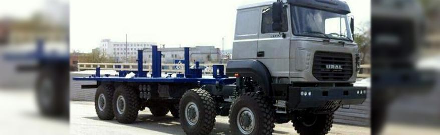 Новая модификация автомобиля Урал-М повышенной грузоподъемности