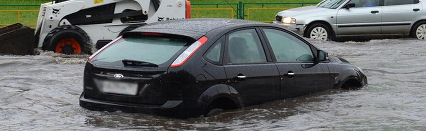 Автомобиль затопило. Что делать?