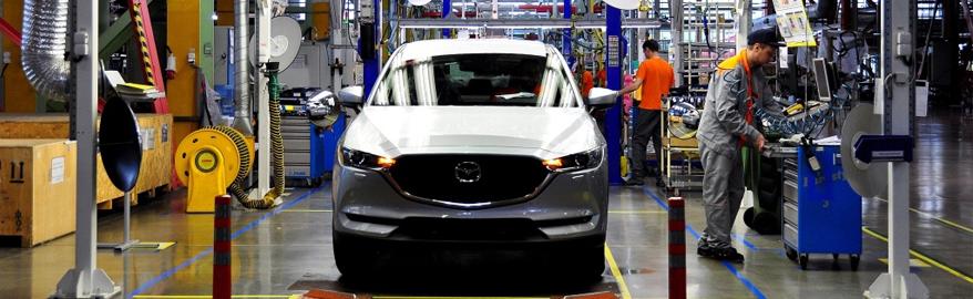 В России начали производить новое поколение Mazda CX-5