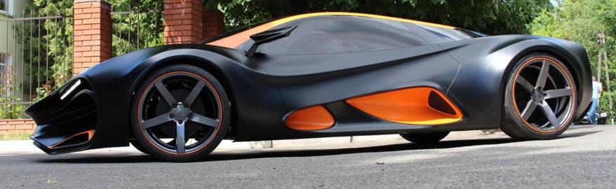 «Первый украинский суперкар»: при чем здесь Lada Raven?