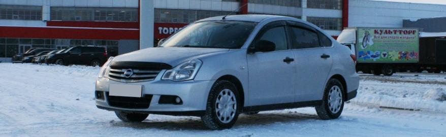 Nissan Almerа отзывают из-за отслоения заднего стекла