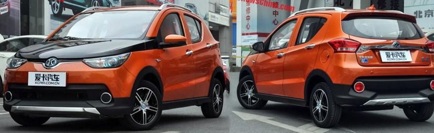 В Китае создали машину, которую глава Renault обещал через 3-5 лет