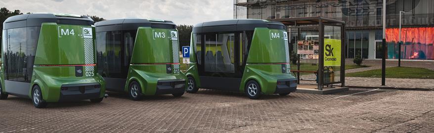 Российский беспилотный автобус испытают на Дальнем Востоке