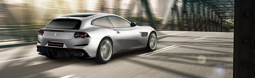 «Упрощенный» Ferrari GTC4 Lusso дебютирует в Париже