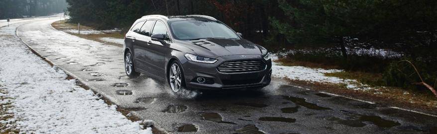 Автомобили Ford будут предупреждать водителей о ямах на дороге