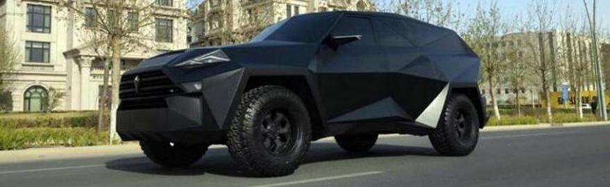 В России запатентовали китайский автомобиль за $2 млн