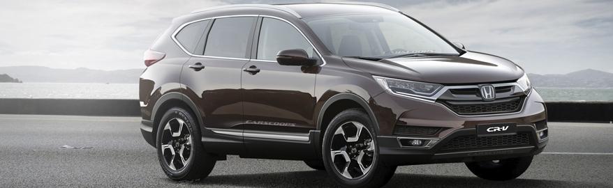 Новая Honda CR-V впервые получает турбину