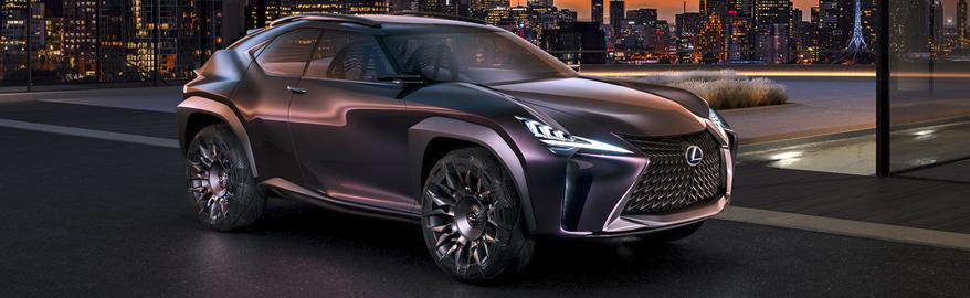 Новый Lexus UX: есть фото салона