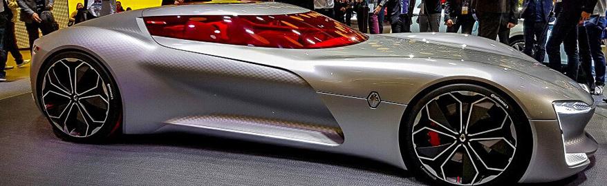 Renault представила крутое спорткупе