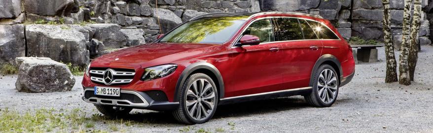 Cюрприз от Mercedes: E-класс сделали внедорожным