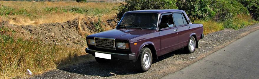 Назван самый распространенный автомобиль в России