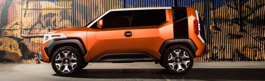 Очень необычный внедорожник от «Тойоты»: сюрприз Нью-Йорка