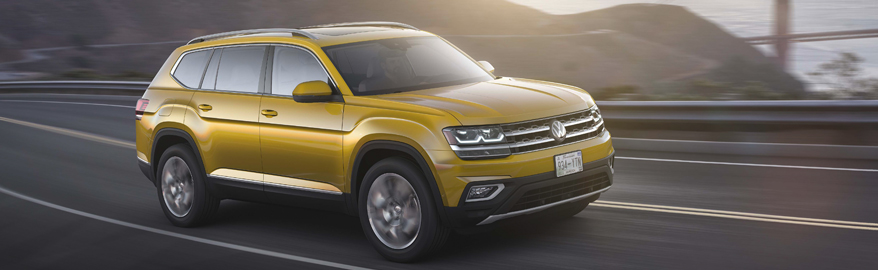 Большой Volkswagen дешевле «Туарега»: подробности для России