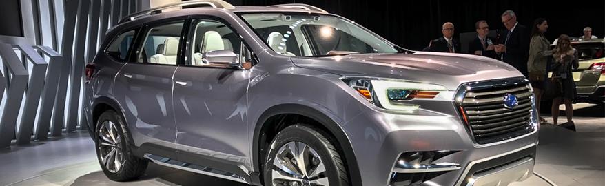 Самый большой Subaru будет называться Ascent