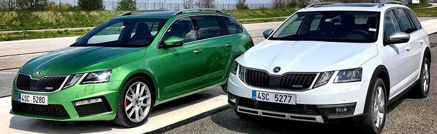 В Россию может приехать самая мощная Skoda Octavia