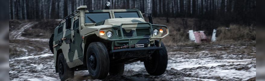 В России началась разработка внедорожника «Тигр-2»