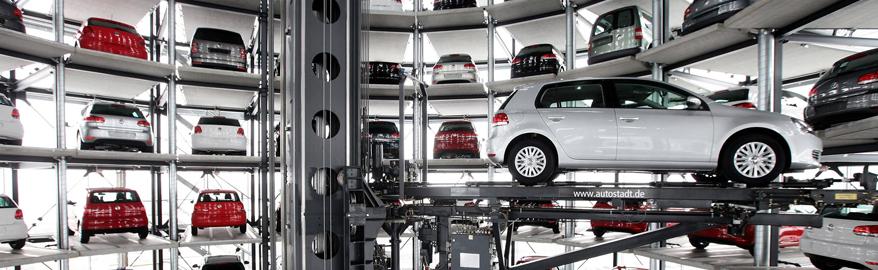 В России хотят строить башни-парковки