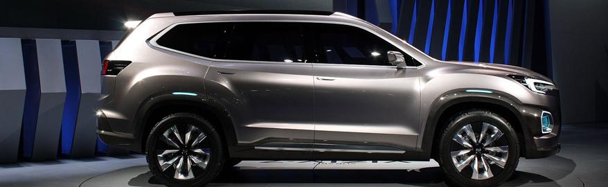 У Subaru появится кроссовер длиной 5,2 метра