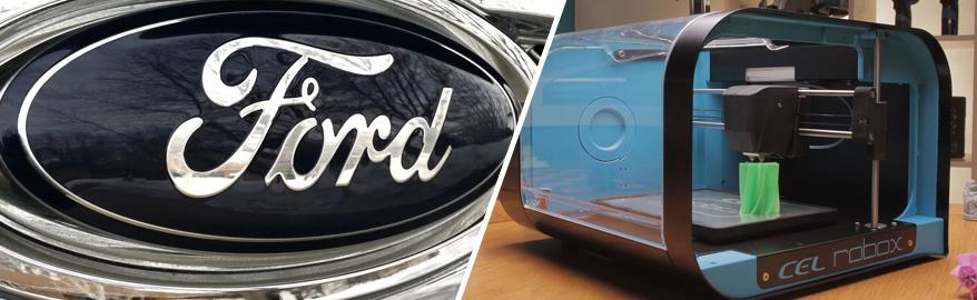 Компания Ford планирует изготавливать часть автомобильных деталей на 3D-принтере
