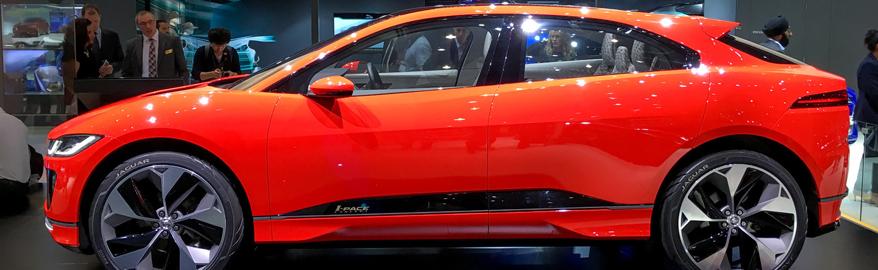 Самый необычный Jaguar — впервые в Европе
