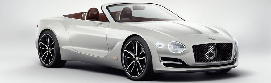 Bentley показал концепт электрического кабриолета